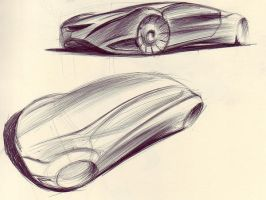 Mazda3 Sketches 3 by kiril27
