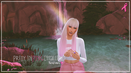 PRETTY IN PINK CHALLENGE by sistaerii