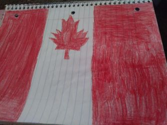 Canadian Flag by Light-Blue-Chan