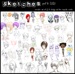 Sketch Dump I: Past to 2010 by slvadrgn