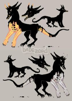 {closed} auction: inked demon design by babezord