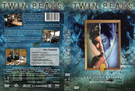 Twin Peaks: The Pilot Episode custom cover art by jaredlyon
