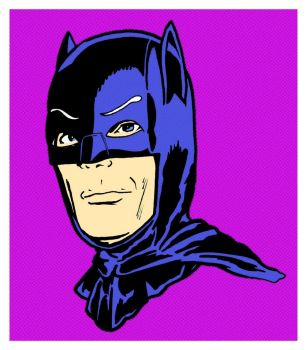 Batman - Adam West by mikedaws