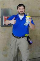 Billy Mays by popecerebus