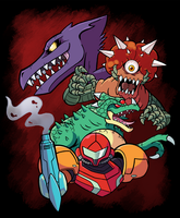 Super Metroid by SonicKnight007