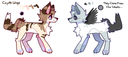 Adopt Batch - 1 Point Auction Open by puppsicle