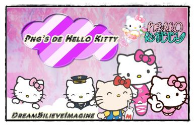 Pack fotos png de Hello Kitty. by DreamBilieveImagine
