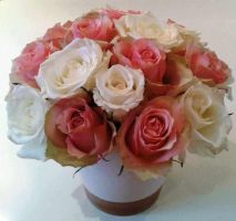 Bouquet of Roses Stock by Sakura060277