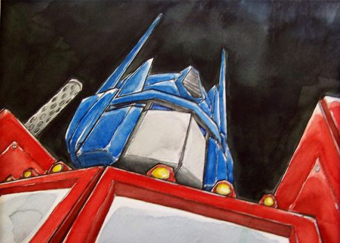 Optimus Prime by MatthewFletcher720