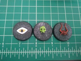 Chaos Psychic Power Markers by darkageis