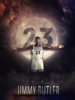 JIMMY BUTLER #23 by AYGBMN