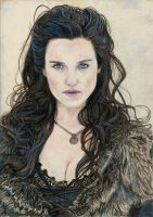 Morgana - Katie Mcgrath by Pevansy