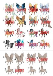 November Pony Adopts: CLOSED by Earthsong9405