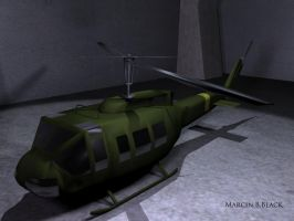 UH1-Huey - version 1 by MarcinBBlack