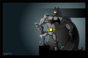 batman by ferwar