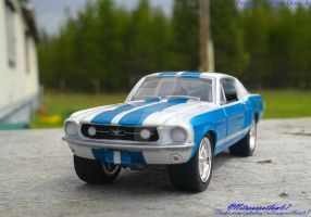 1967 Ford Mustang Fastback by Nitrousoutlaw71