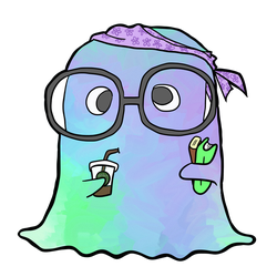 Hipster Ghost by JackDragondale