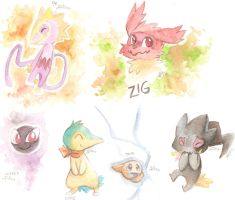 PMDe Watercolors by yassui
