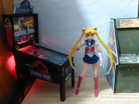 Sailor Moon arcade JP machine by Trackforce