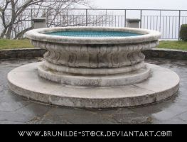 Piona's Abbey - Fountain IV by brunilde-stock