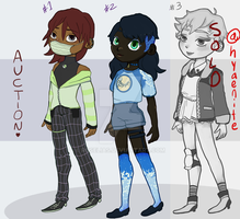 [2/3 AUCTION ADOPT] cool kids on the block / OPEN by Roselias