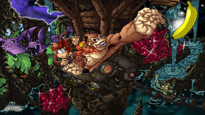 Donkey Kong Country by Joelchan