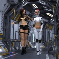 2OT - Space-Gossip - IRAY 001 by 2OT