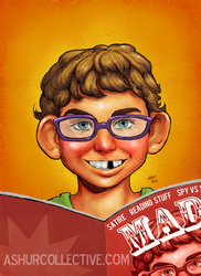 Mad Magazine by kgpaints