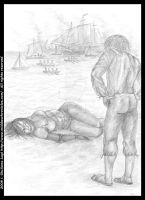 Adrift: pencil version from Book I by middaschronicles