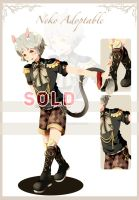 Male Neko adoptable AUCTION: CLOSED by Tammi-Adopts