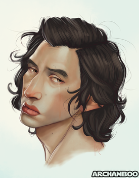 Kylo Ren by mbrisa