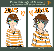 Draw This Again Meme (Again) ft. Jiku by LuckyJiku