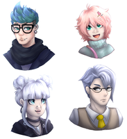 PTS Trainer Headshots || Com by Amiookamiwolf