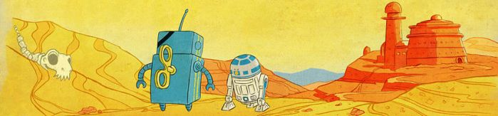 R2 and Friend by Hado-Land