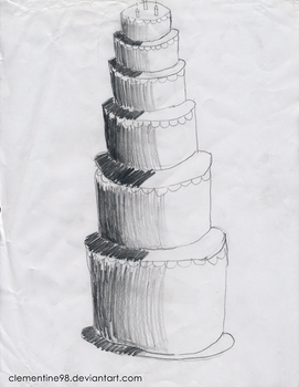 Layered Cake by Clementine98