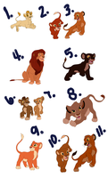 free lion adopts~ n3n by duckfluff