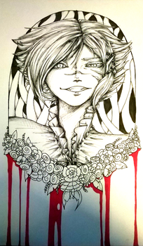 Blood Stained Innocence by taziwolf