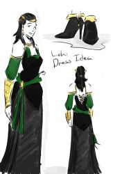 Loki Dress Idea by tamara-robitille