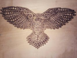 my first pyrography by matcheslv