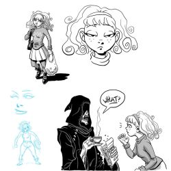 Apartmageddon - More sketches 1 by SteamPoweredMikeJ