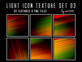 Light Icon Texture Set 03 by sari1490