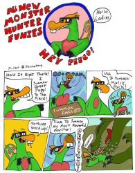 Monster Hunter Funies by philbot