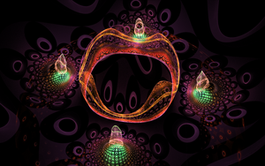 impressive creation with black holes by Andrea1981G