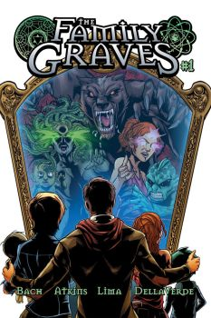 The Family Graves cover 1 by BrianAtkins