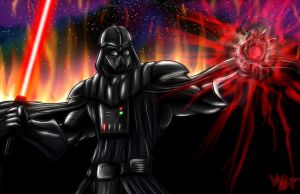 Darth Vader Lord of The Sith by SirWolfgang