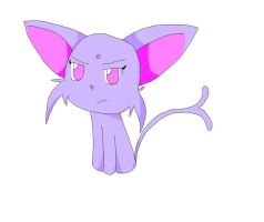 Espeon by TapinAnts