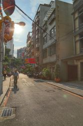 Taipei's alley by akizhao