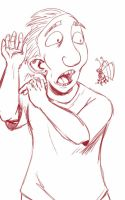 Daily Sketch: Bugs Are Icky by Hunchy