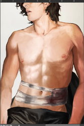 Kylo Injured version WIP by Brilcrist