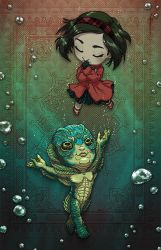 The Shape Of Water by JoannaJohnen